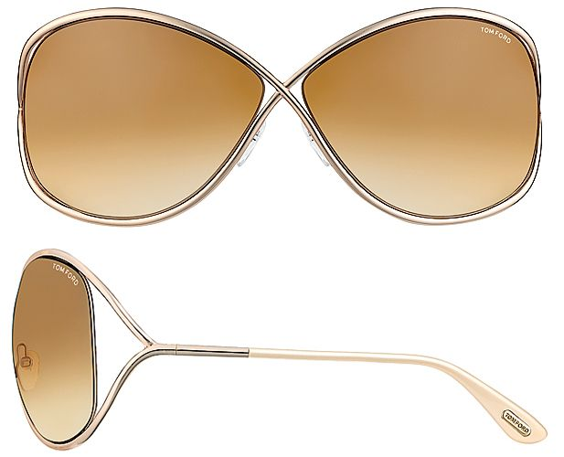 78cf08707f92 I WANT these  D TOM FORD MIRANDA TF 0130 Sunglasses color 28F Angelina  Jolie has them