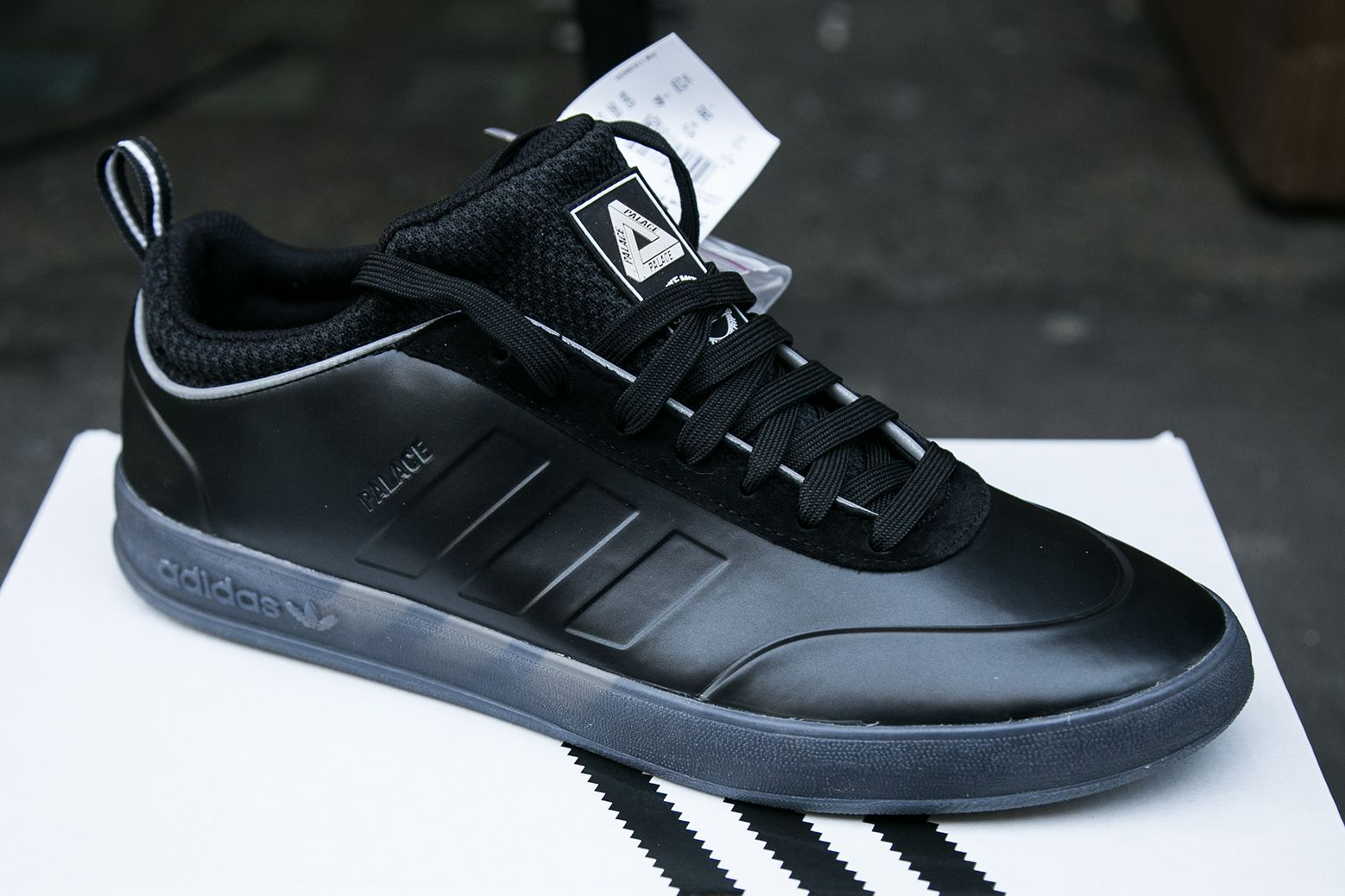 new products 24cad c1551 London Gets First Look at Palace x adidas Originals Latest Drop