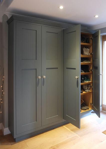 Best A Bespoke L H Double Cabinet With Oak Interior And 400 x 300