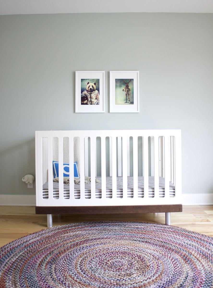 Simple Modern Nursery By Sarah Stacey Interior Design #interiordesign  #nursery #boy