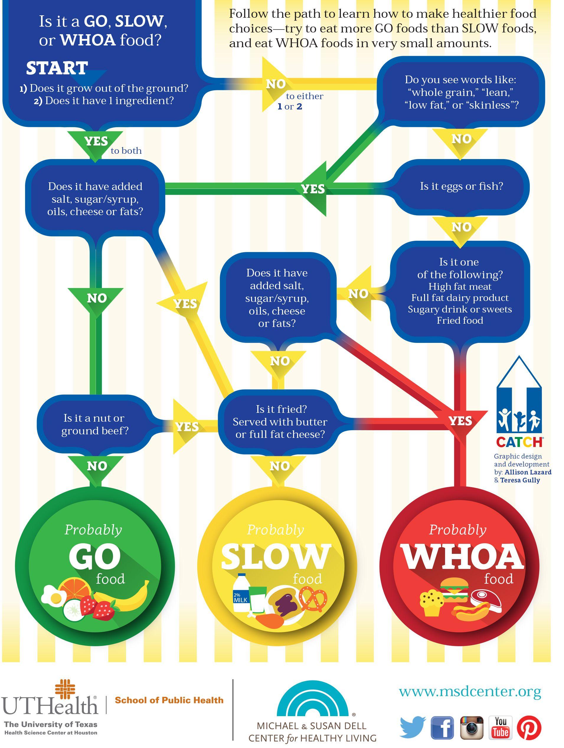 Go Slow Whoa Flowchart Source Uthealth School Of Public Health
