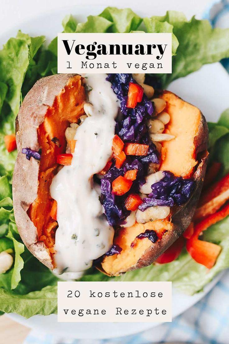 Veganuary und 20 kostenlose vegane Rezepte