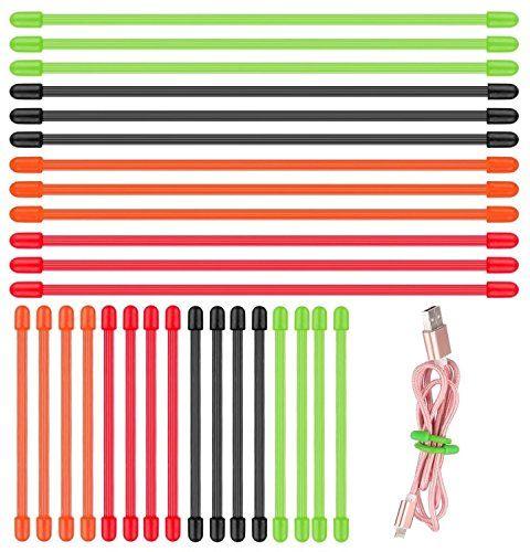 8 Colors 800 Pieces 4 Inch Metallic Twist Ties