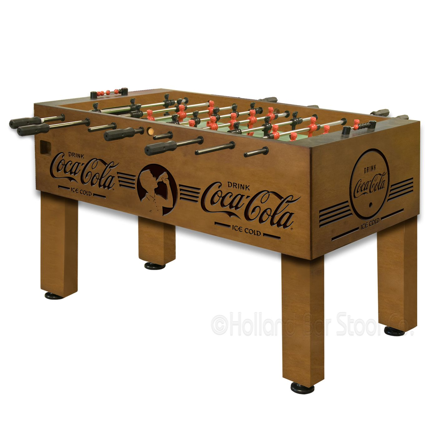 Coca Cola Foosball Table By Holland Bar Stool At Atg