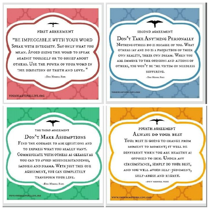 Four Agreements Quotes Mesmerizing Four Agreements  Mantra  Pinterest  Wisdom Humbleness And Truths