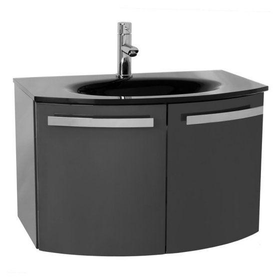 Acf By Nameeks Crystal Dance 28 In Single Bathroom Vanity Set