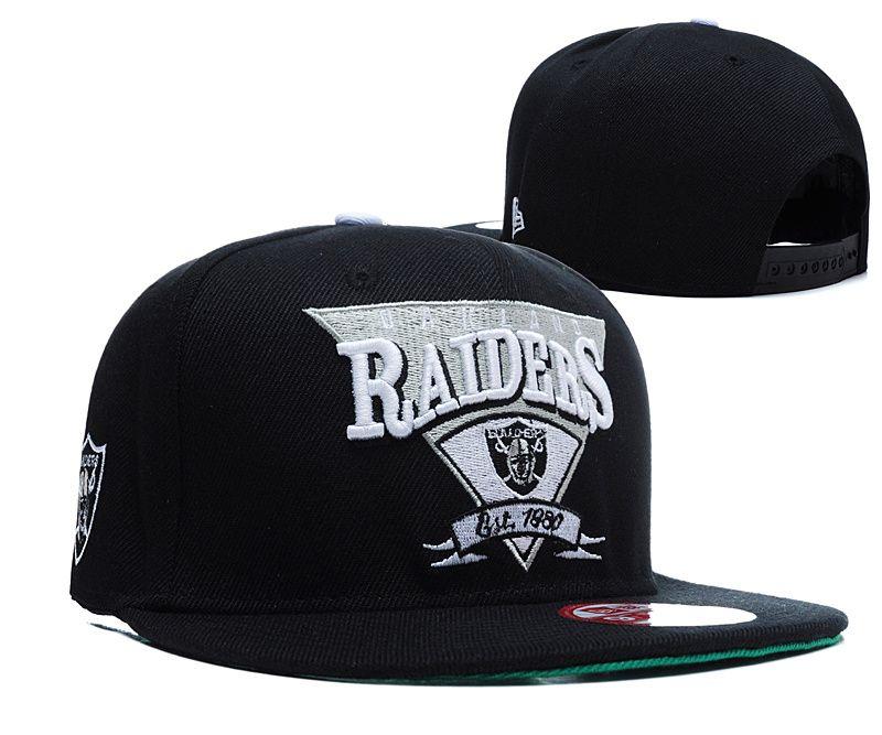 Cheap NFL Oakland Raiders Snapback Hat (90) (42128) Wholesale ... f3452b92927