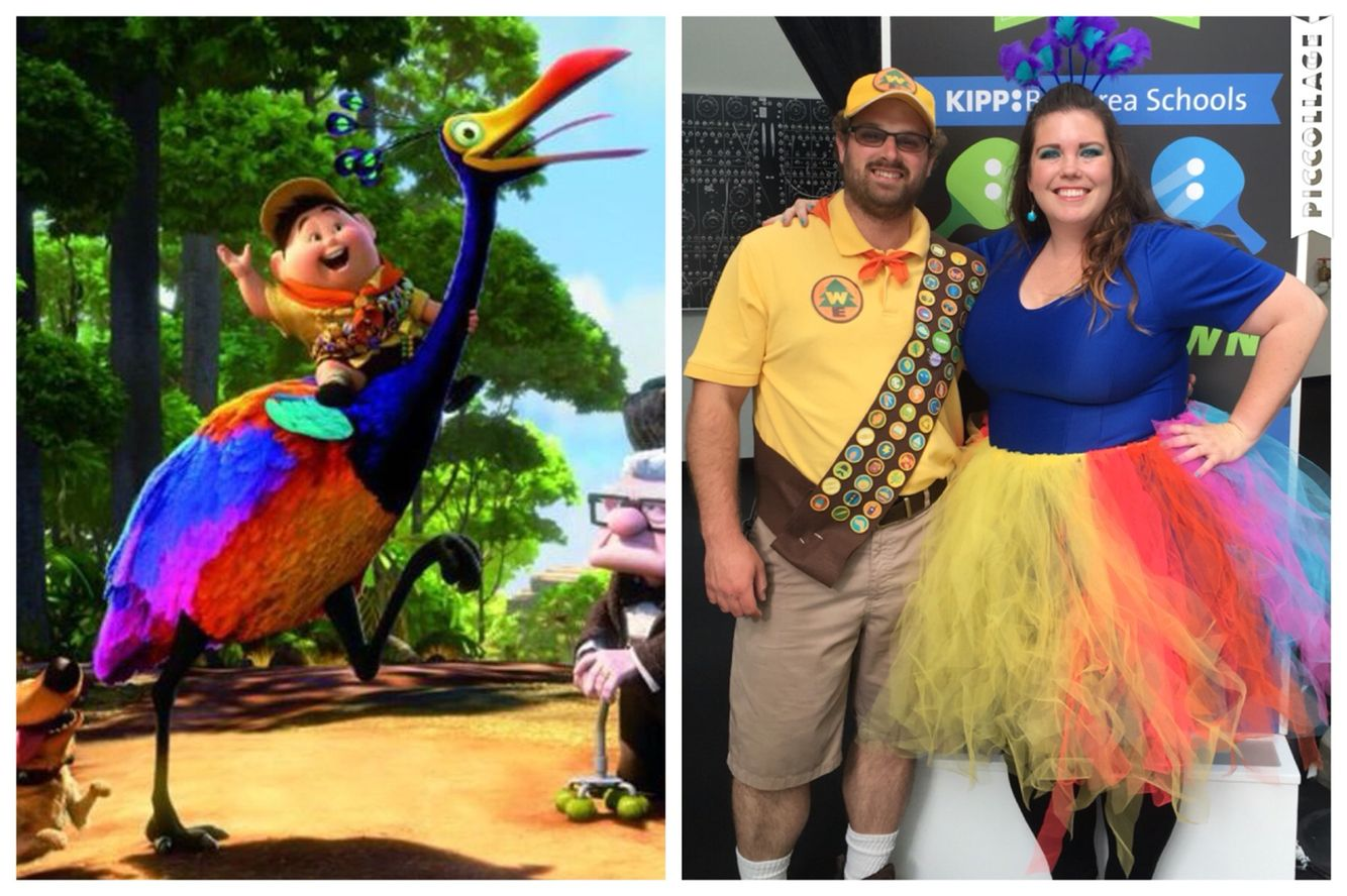 5dd3be2faca Kevin and Russell from Pixar's UP! Homemade costumes thanks to ...