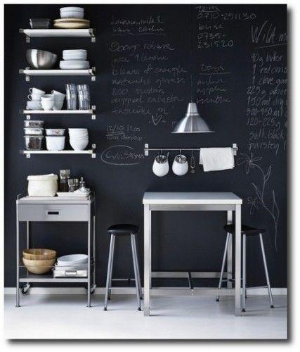 Modi Per Famiglie Da Utilizzare Lavagna In Cucina Ikea  I Lettori Adorable Kitchen Blackboard Review