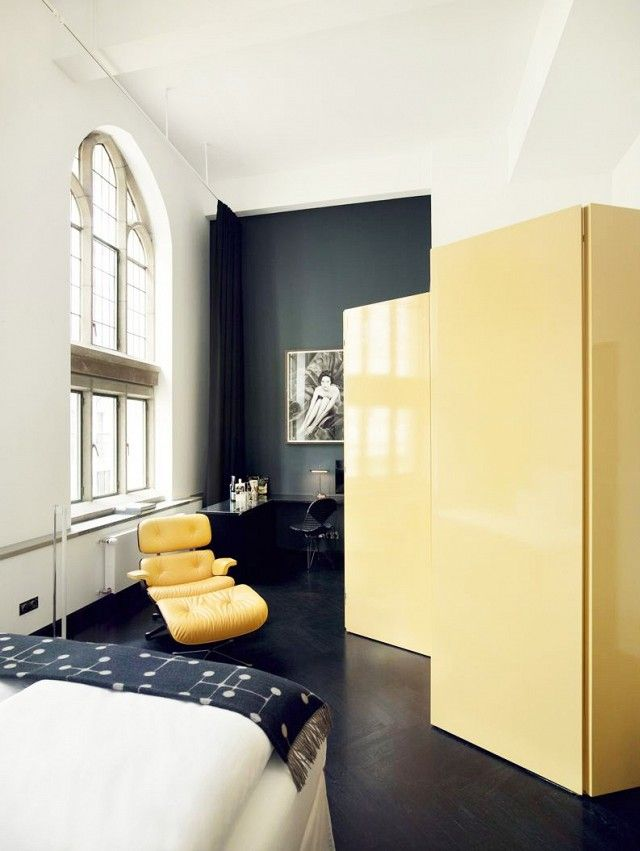 This Neo-Gothic Hotel Is Giving Us Major Inspiration | Modern, Walls ...