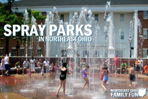 Northeast Ohio Spraygrounds And Spray Parks With Interactive Map Spray Park Northeast Ohio Summer Fun