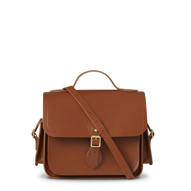 Vintage Large Traveller Bag With Side Pockets Cambridge Satchel