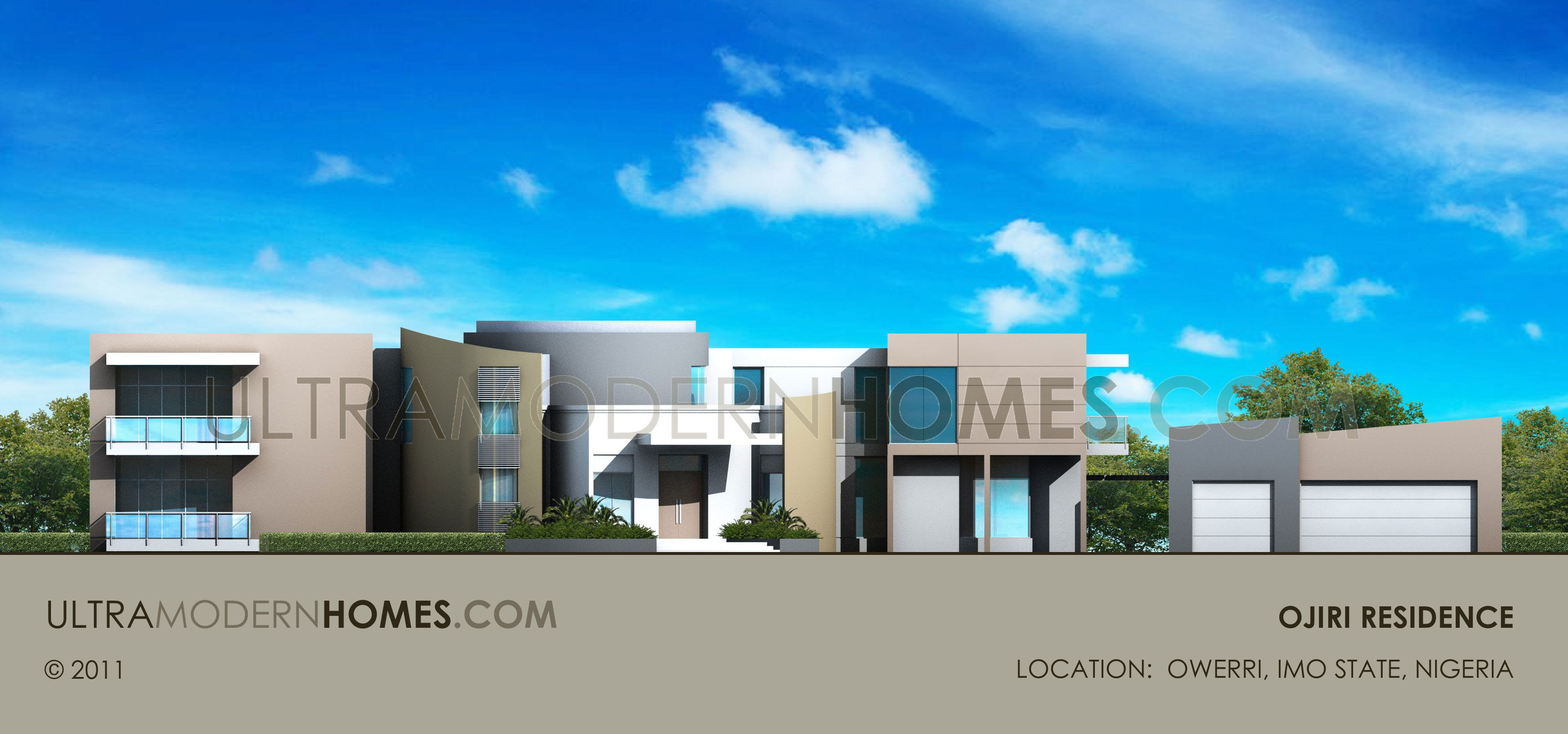Ultra Modern house plan in Owerri, IMO State, Nigeria ...