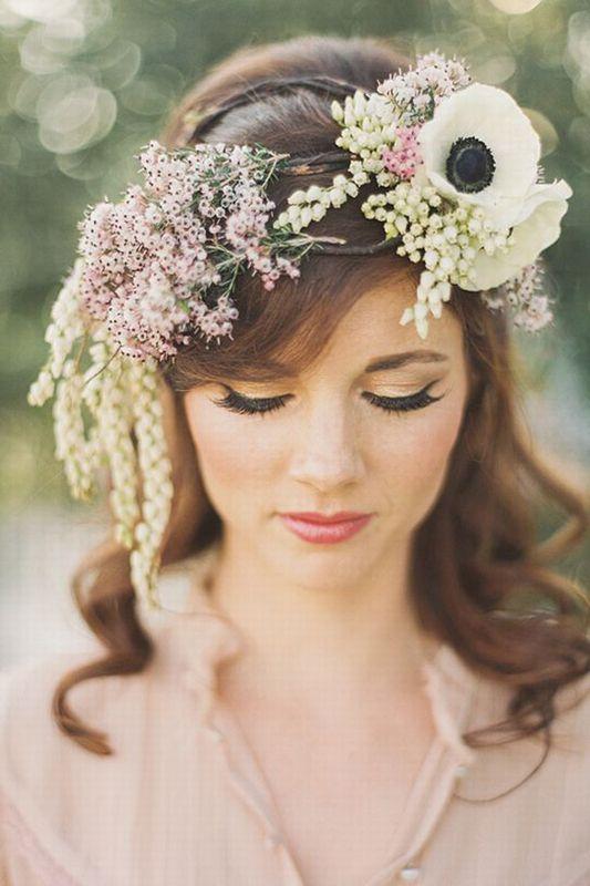 Flower Power Frisuren Jetzt Wird S Blumig Haare Pinterest