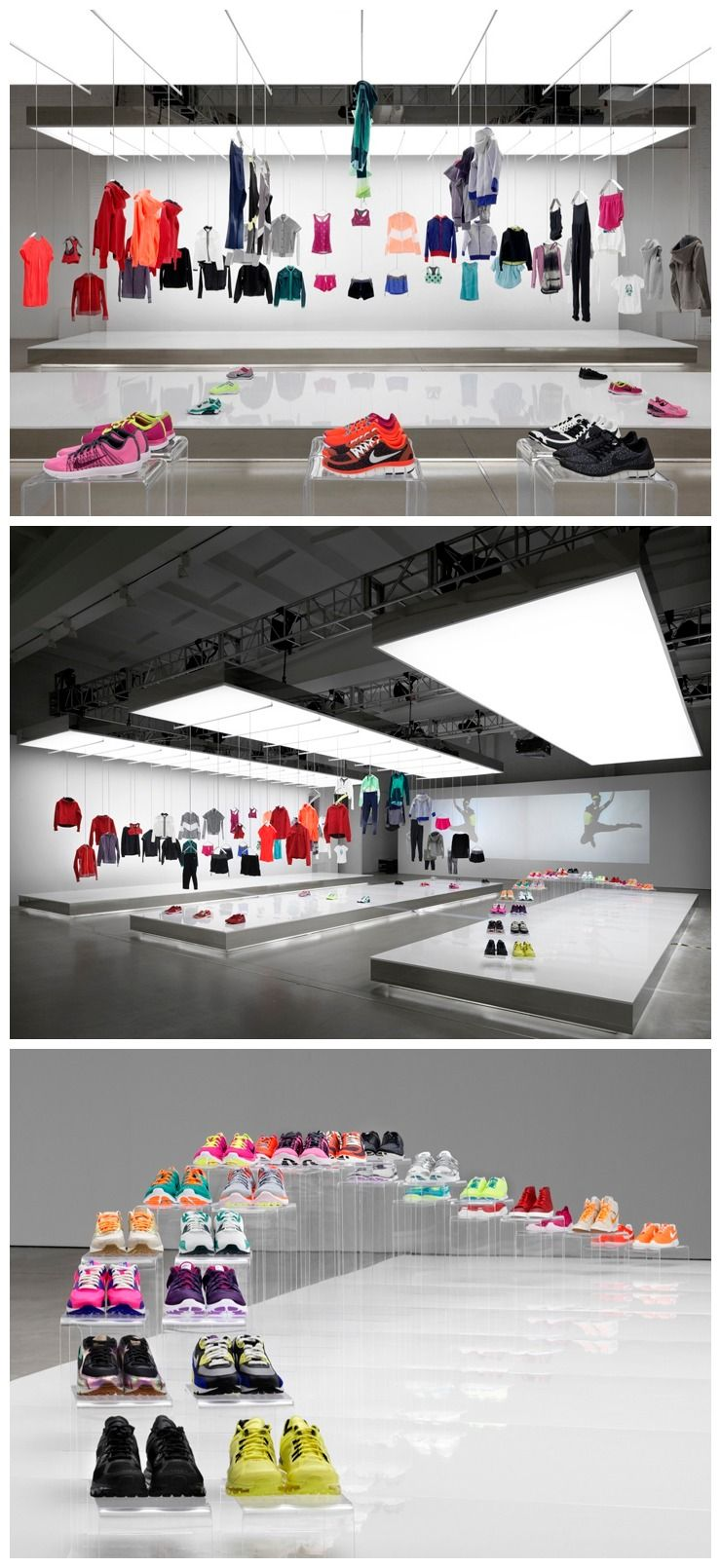 Nike pop-up showroom by Maggie Peng Albert Tien, Beijing