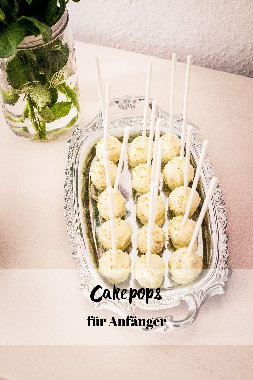 Cake-Pops für Anfänger – Vanille Cake-Pops mit weißer Schokolade #pralinecake