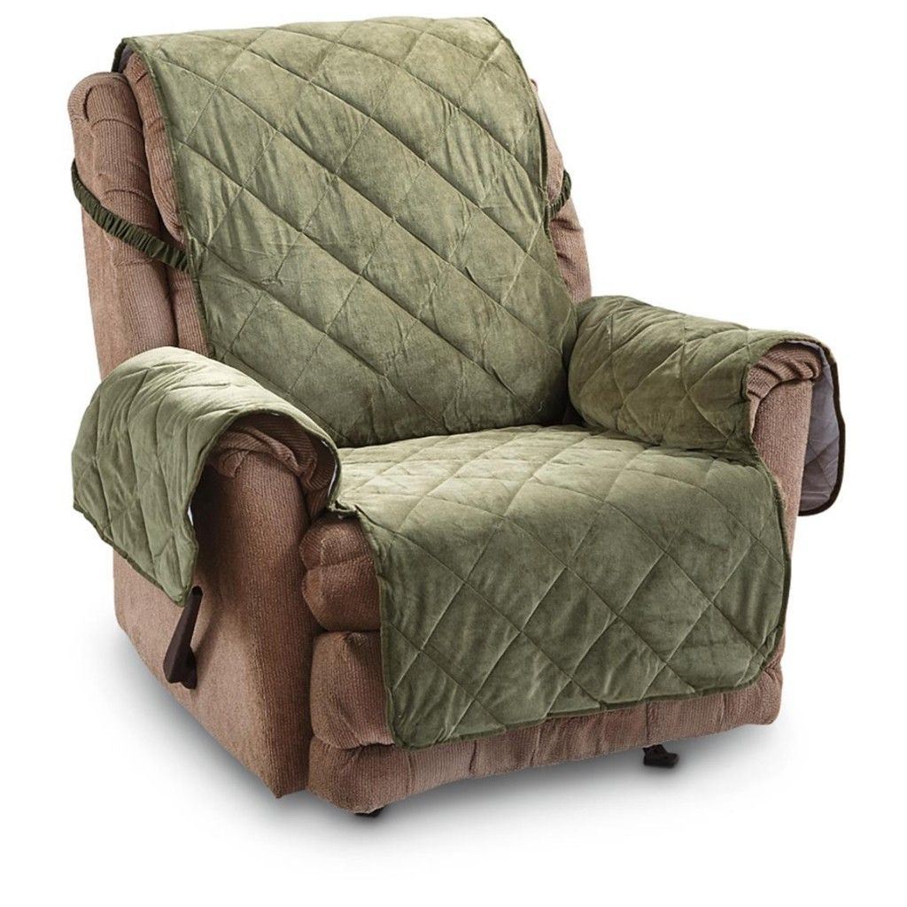 Furniture covers for reclining sofa recliner cover