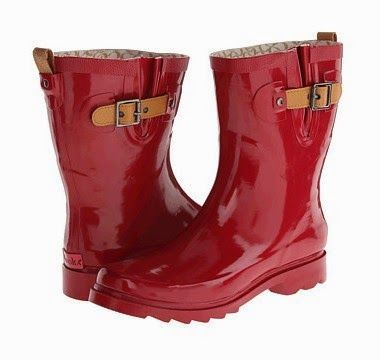 Extra Wide Calf Rain Boots Women: Chooka Top Solid Mid Rain Boot Price  $65.00.
