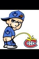 Habs Funny Pics : funny, Dominic, White, Leafs, Montreal, Canadiens, Funny,, Toronto, Maple, Logo,, Hockey