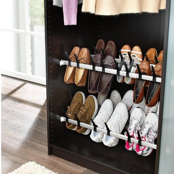 Barre Range-Chaussure 10 Paires #Thisga | Organiser Ideas