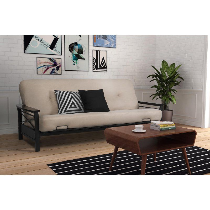 Dhp Nadine Futon Frame With Armrests 2101959 Products