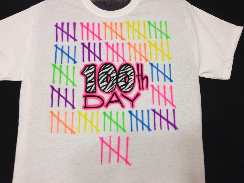 Airbrush 100th Zebra Day School T Shirt By Airbrushingbytaylor
