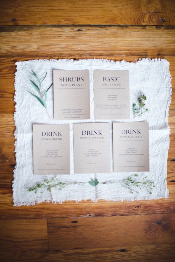 Organic Cotton Napkins made by Simple is Pretty Shop used by Lauren Wells Events and featured on Style Me Pretty Living...