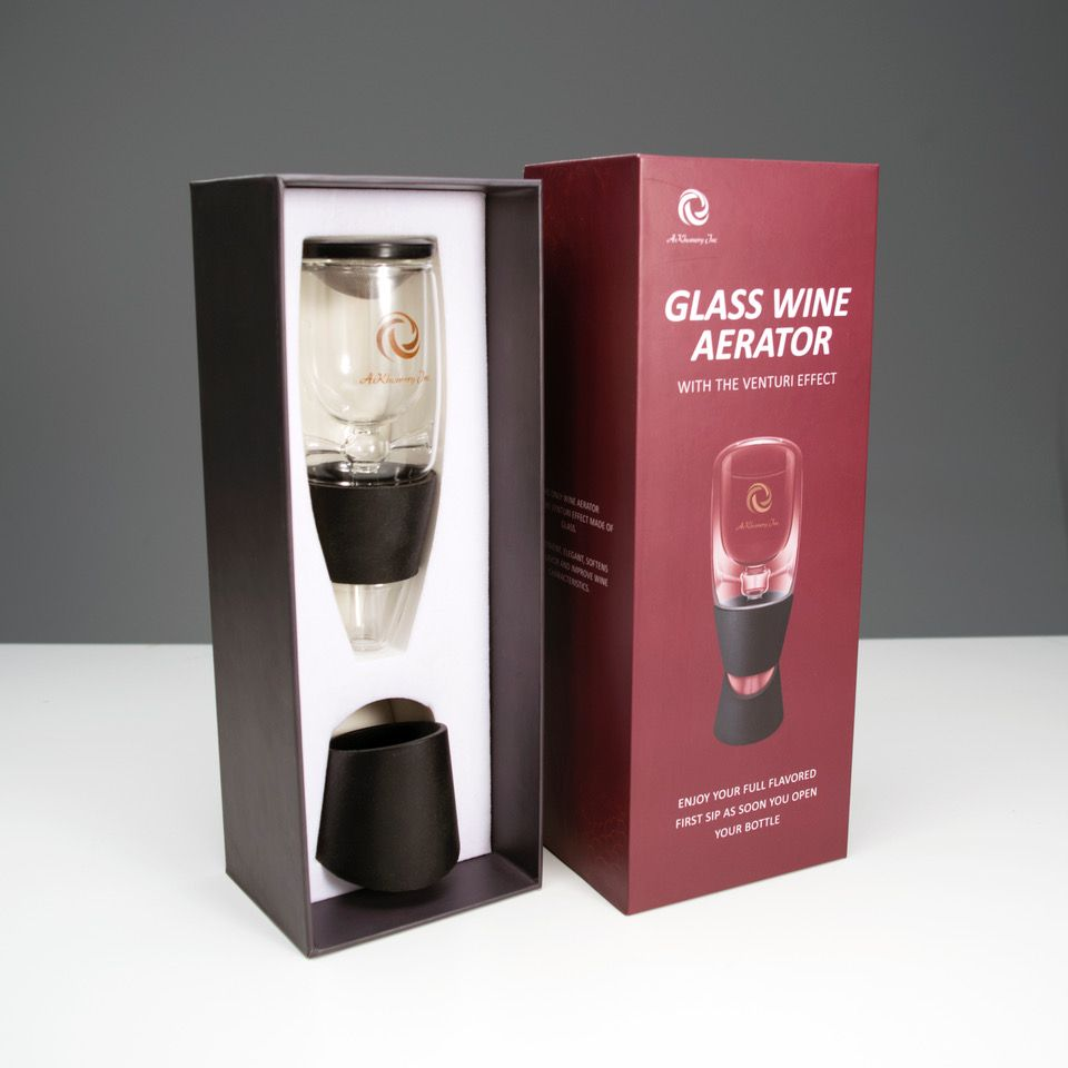 Happiness Is An Aromatic Glass Of Wine Are You A Wine Enthusiast Who Enjoys Relaxing With A Glass Of Merlot After A Tiring D Wine Aerators Wine Aerator Pourer