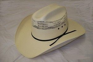 950291ff6e2 Double S Hat Collection The Open Stockman Straw Cowboy Hat