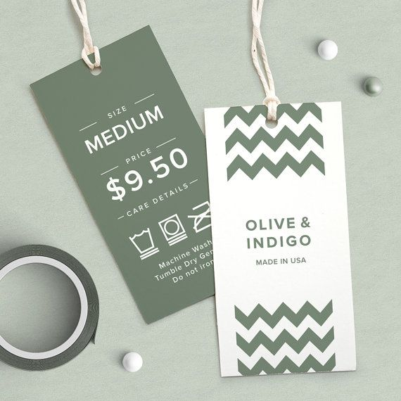 Customized clothing hang tag, price tags for clothes ... |Price Tags For Clothing