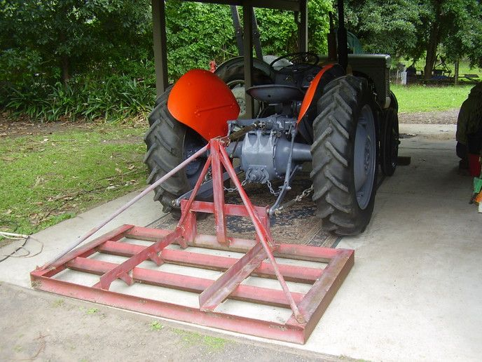 Image result for homemade land leveler pt and tractor