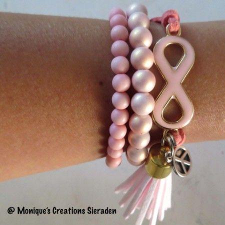 Armbanden Infinity (zit in Roosendaal)