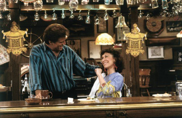 Image result for cheers show sam and carla