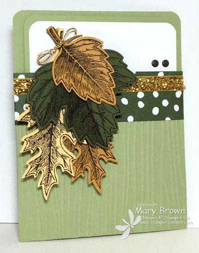 SUO133 Vintage Leaves