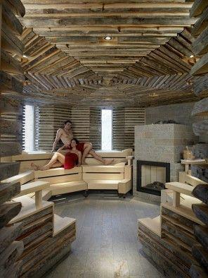 klafs sauna and wellness references tschuggen grand hotel klafs references sauna spa. Black Bedroom Furniture Sets. Home Design Ideas