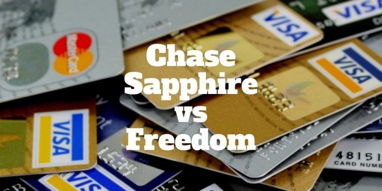 Chase Freedom Vs Chase Sapphire Preferred Https Investormint Com Credit Cards Chase Sapphire Vs Freedom Comparison Personalf Chase Freedom Credit Card Cards