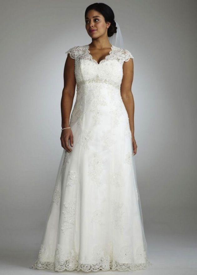 226765303d24 Top 10 Plus Size Wedding Dress Designers By Pretty Pear Bride  plussize   bride