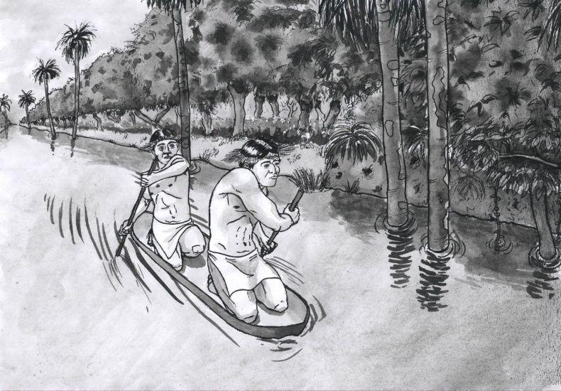 Resultado De Imagen Para Rio Amazonas Para Dibujar History Humanoid Sketch Education