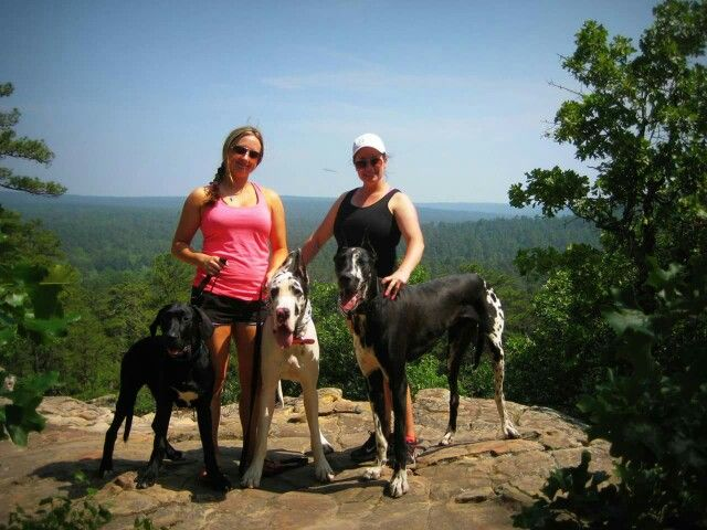 Hiking At Robbers Cave State Park Wilburton Oklahoma With Great