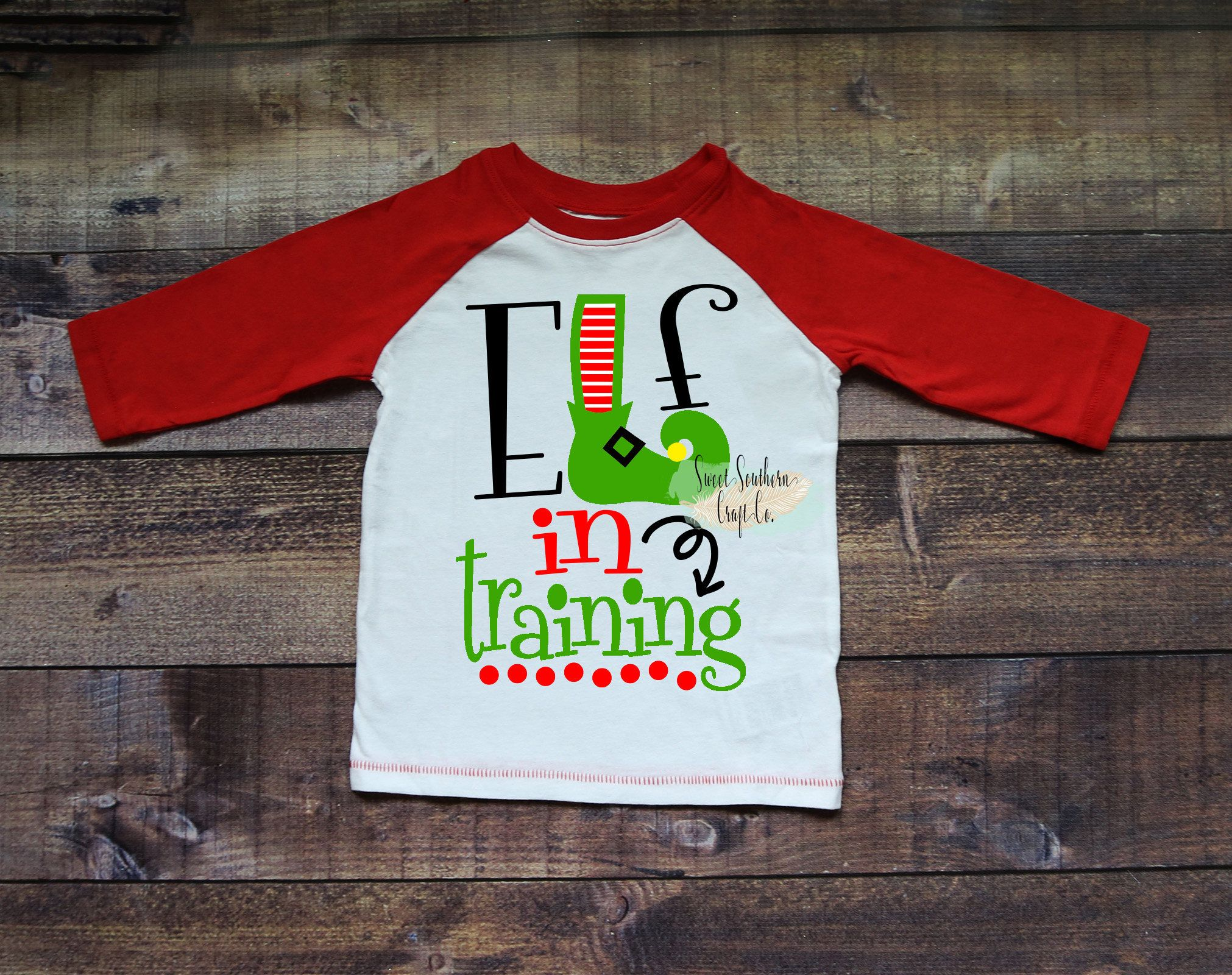e77ae7c79 FREE SHIPPING**Elf In Training Kids Christmas Raglan,Christmas Shirt,Matching  Shirts,Holiday Shirt,Baseball Raglan,Elf Shirt,Christmas Party by ...
