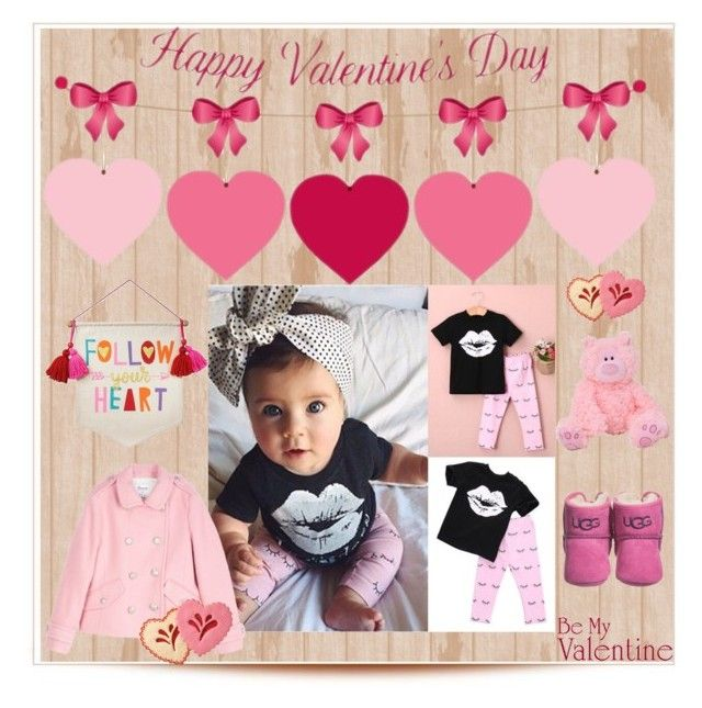 """""""Valentine baby"""" by joyfulmum ❤ liked on Polyvore featuring Bonpoint and UGG"""