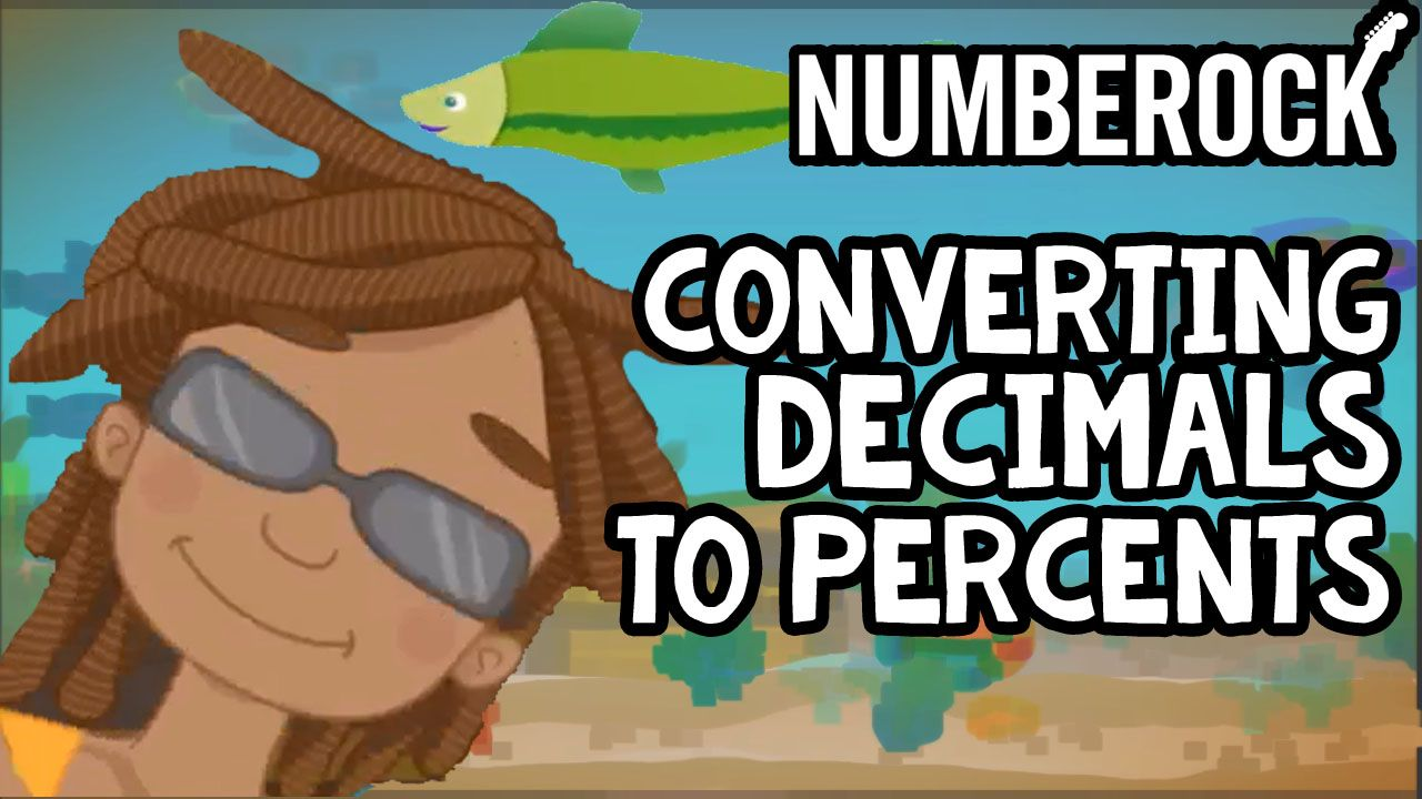 medium resolution of Converting Decimals to Percents Song   NUMBEROCK   Decimals