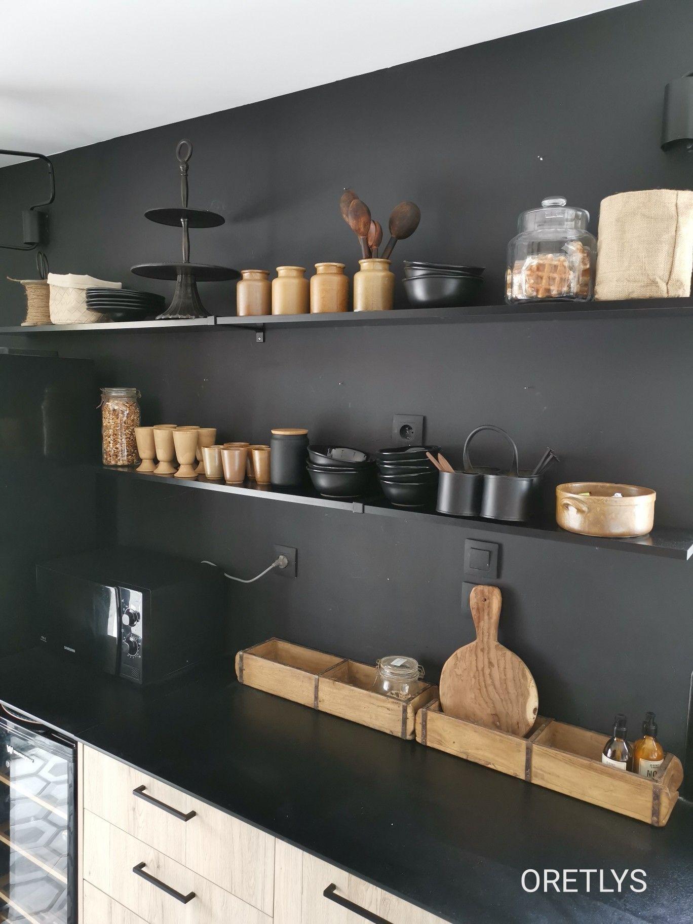 boite en bois pot pour cuisine