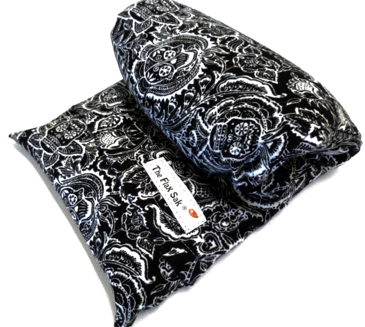 Microwave Flax Heating Pad Large Removable Washable Flannel Cover