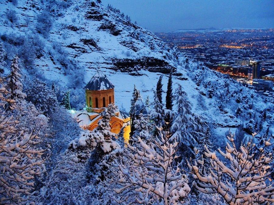 Картинки тбилиси зимой