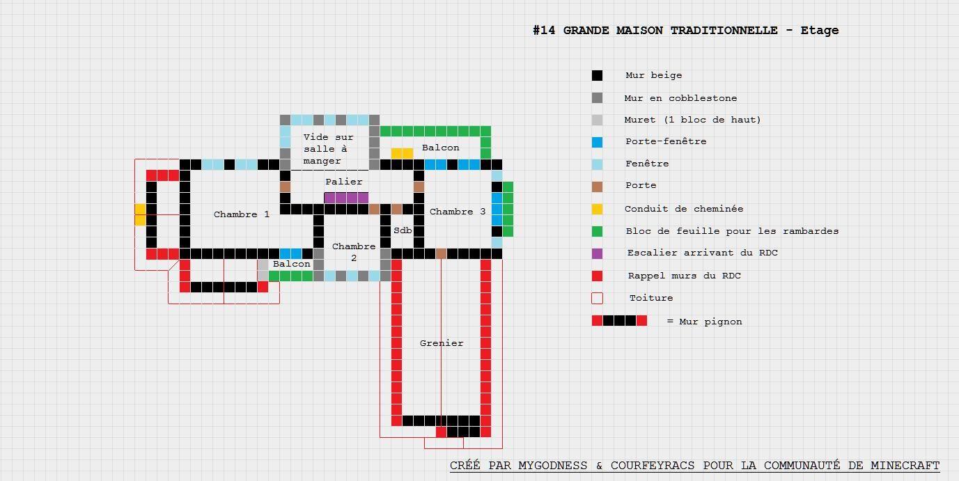 Maison Plan Minecraft Ide