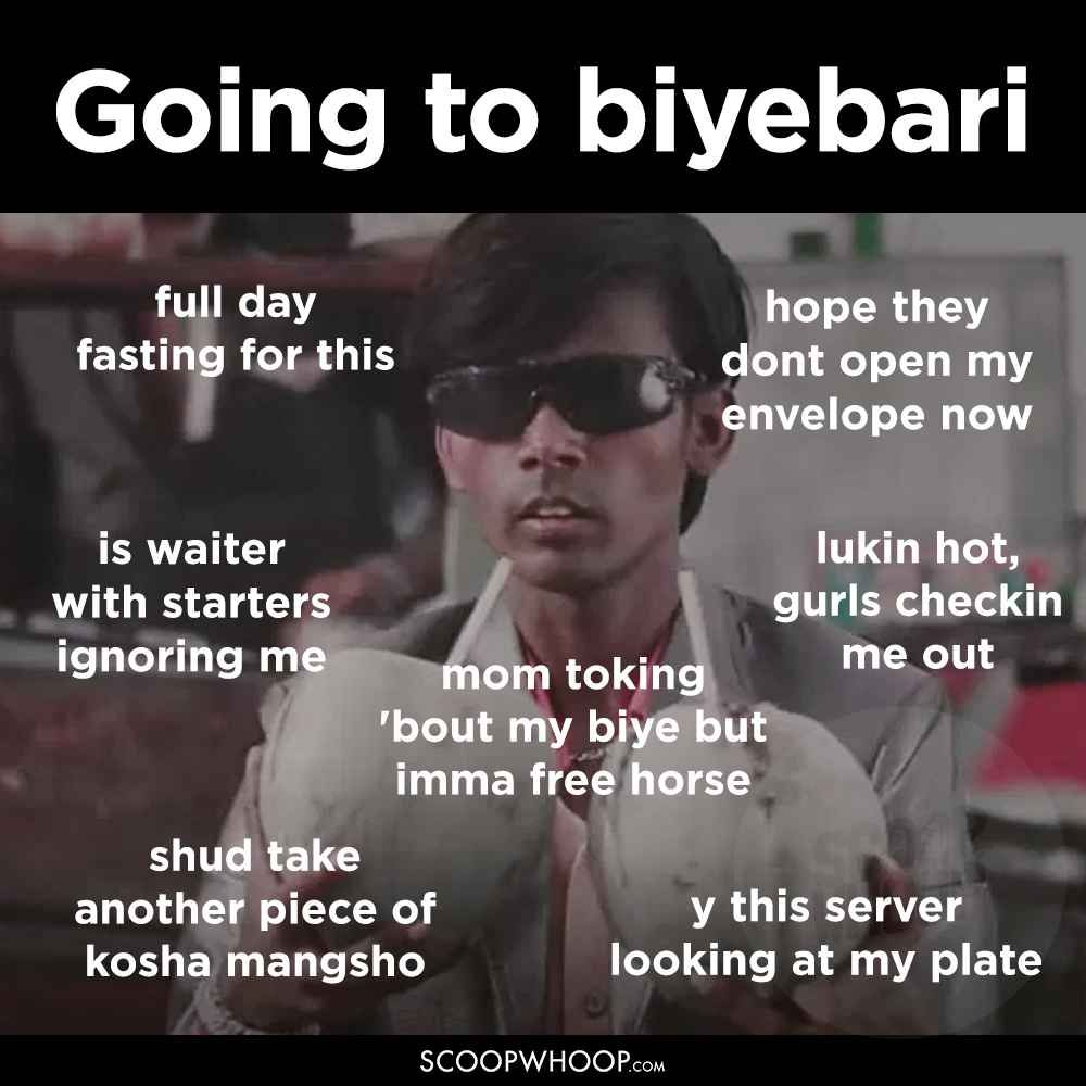 These typical bong memes perfectly capture the mojja of everyday life in kolkata