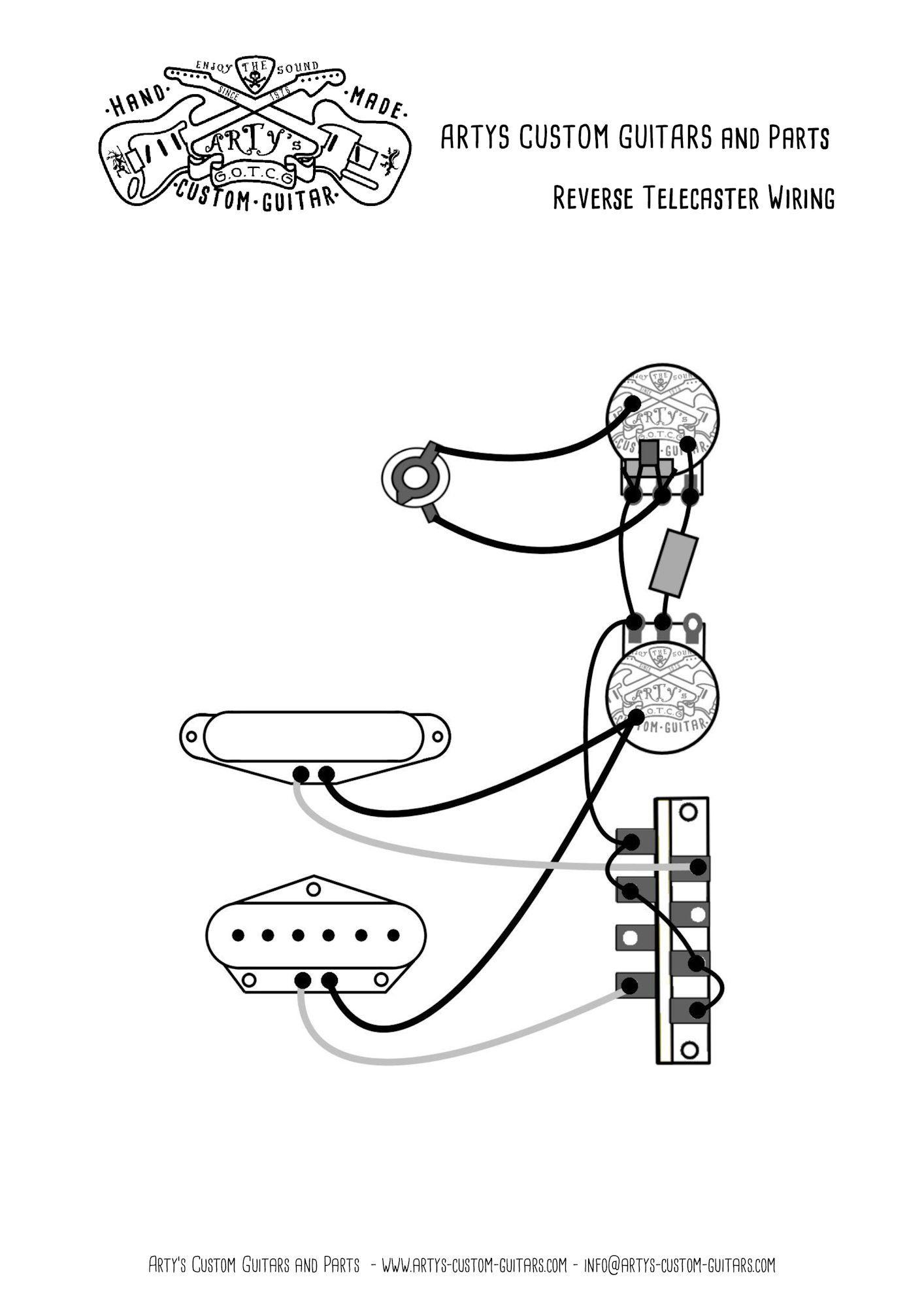 reverse telecaster wiring diagram