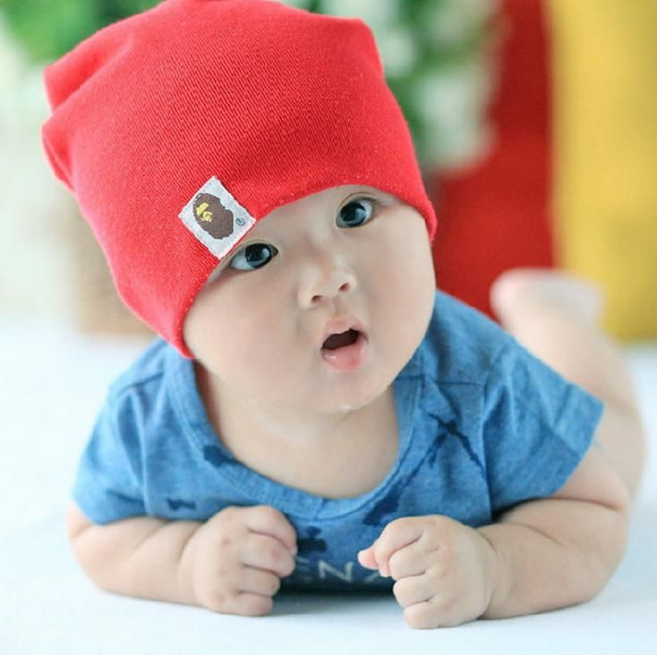 Accessories Cute Infant Baby Girls Boys Cartoon Moon Star Print Sleep Cap Cotton Kids Baby Headwear Hat Boys' Baby Clothing