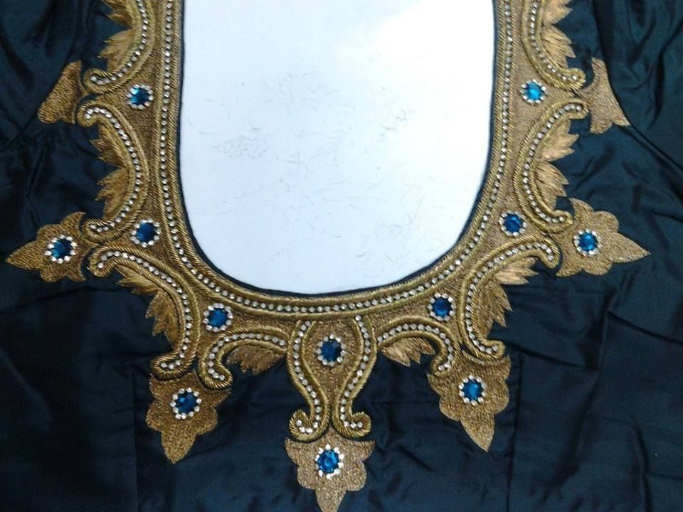 Maggam Work Embroidery Blouse  Sexy Choli
